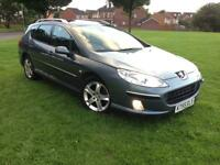Peugeot 407 SW 2L diesel hdi 2006 low mileage hpi clear excellent