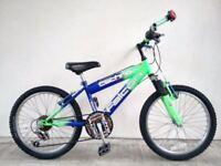 "(2582) 20"" FALCON BOYS GIRLS MOUNTAIN HARDTAIL BIKE BICYCLE Age: 7-9, 123-138 cm"