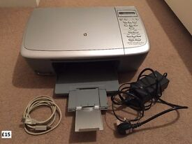 HP All-in-One Colour Printer, Wireless Mouse and Keyboard, 2 Monitors & Notebook Riser-3M LX550