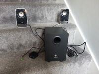 Logitech 2.1 Speakers Black/Silver