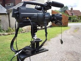 Sony HD1000E Pro Video Camera Equipment incl. Camera Crane