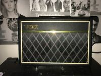 Vox pathfinder bass amp +leads great condition(flexible price)