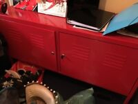 Free Ikea Metal Cabinet Red - has fault
