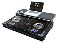 Pioneer DDJ-SZ with Pioneer Flight Case Workstation