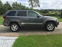 Jeep Grand Cherokee 4.7l Limited 4 x 4 estate car 2005 in excellent order.