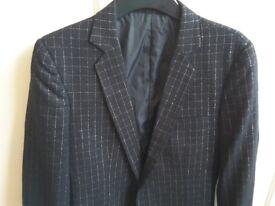 Retro mens black jacket