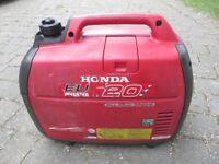 Honda generator, EU 2.0i in excellent condition