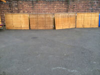 6 X 4 FENCING PANEL EX HOMEBASE DISPLAY MODELS GOOD CONDITION