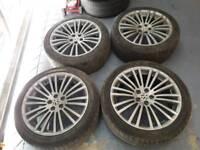 Audi vw r32 alloy wheels 18inch pcd 5x100