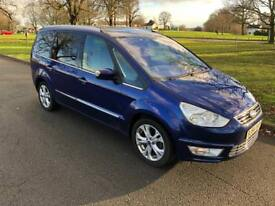 2014 64 FORD GALAXY 2.0 TDCI TITANIUM 6 SPEED MANUAL 7 SEATER
