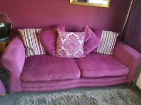 3 seater sofa and large armchair for sale