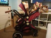 iSafe Pram System 3in1 Baby Travel C&M Designs Unisex