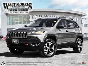 2016 Jeep Cherokee Trailhawk - LEATHER, REAR VIEW CAMERA