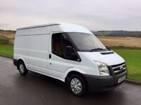 Low miles clean 2008 transit 2.2fwd in the rare mwb ex council 80k yes 80k big engine 110bhp