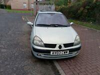 2003 Renault Clio 1.4 16v Privilege 5dr @07445775115