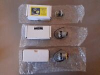 3 x Minature drill motors (MFA/Como), 2 x panel mounted variable speed regulators, pulley