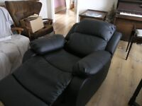Recliner (electric) armchair: very new and scarcely used. Restwell Clifton Recliner Chair.