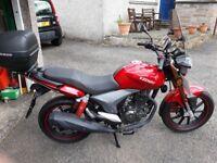 Keeway 125 Motorbike