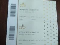 Saturday Royal Ascot - Windsor Enclosure X 2