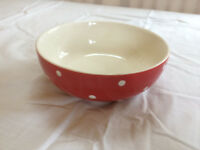 Red Spode Bowl