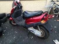 Sym 50 cc like brand new only 200 km cheap