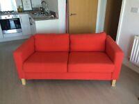 IKEA Karlstad Sofa 2 seater