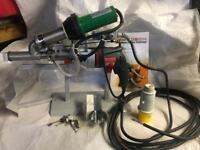Metabo leister plastic extrusion welder 110volt new with stand etc
