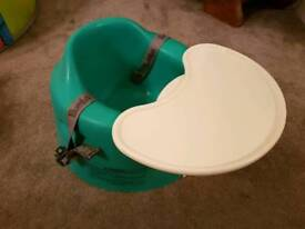 Bumbo baby seat and tray