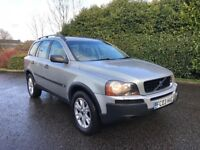 AUTO 2003 VOLVO XC90 2.4 D5 SE G/T AWD FSH 7 SEATER SPEC DIESEL ELECTRIC HEATED LEATHER ETC.......