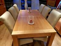 DINNING TABLE & 6 CHAIRS & SIDEBOARD