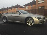 BMW 630i SPORT AUTO CONVERTIBLE 44000 MILES