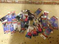 Variety of Fishing Lures and Rigs