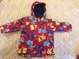 Boy's Next rain jacket 12-18 mth