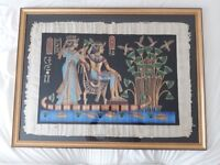 Egyptian Papyrus Painting - Large (107cm x 81cm)