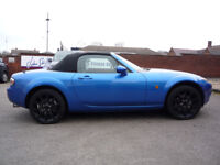 WOW!! STUNNING 2005 MAZDA MX-5 2.0L SPORT IN WINNING BLUE!! COMES WITH FULL MOT AND HISTORY!!
