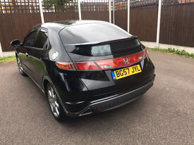 Honda Civic 1.8 i-VTEC EX with tinted windows