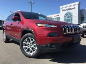 2017 Jeep Cherokee North 3.2L V6 | Remote Start | Heated Seats |