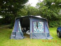 Camplett royal trailer tent