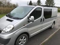 Vauxhall Vivaro part conversion 2013 sportive LWB £8500