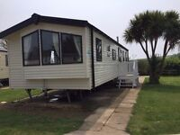 10/04/17 - 4 nights - NEW 3 BED STATIC CARAVAN ON HAVEN 5* WEYMOUTH BAY