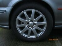 Jaguar S Type Wheels & tyres.