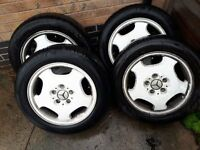 "alloys 16"" with tyres"