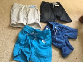 Bundle of boys new with tags shorts 4pairs, from f&f