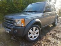 LANDROVER DISCOVERY 3 HSE 2.7 TD V6 7 SEATER AUTOMATIC DIESEL SAT NAV FULL LEATHER 3 SUNROOFS
