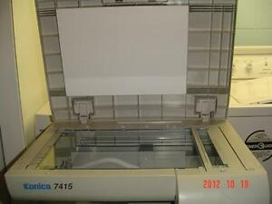 KONICA COPIER - MODEL 7415 & STORAGE STAND FOR START-UP BUSINESS
