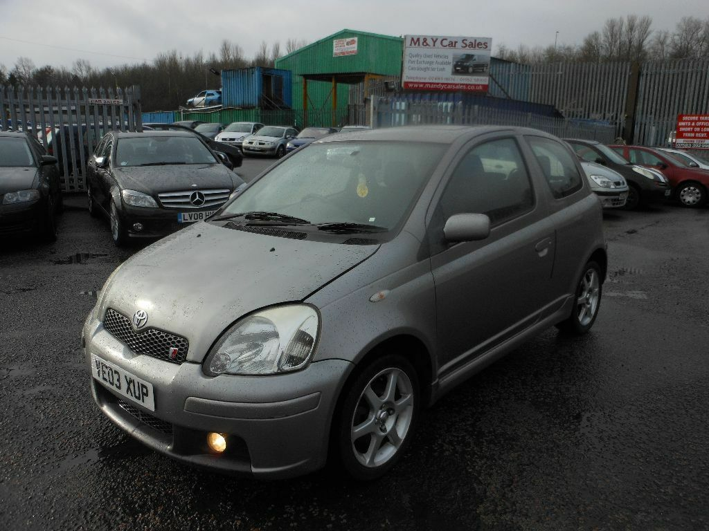 2003 toyota yaris 1 5 vvt i t sport 3dr hatchback for sale 795 mot 23 02 17 in telford. Black Bedroom Furniture Sets. Home Design Ideas