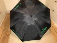 Huge Large Dunlop black Umbrella