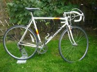 Vintage Peugeot road bike.