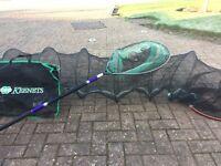 Landing Net & Keepnet with Bag
