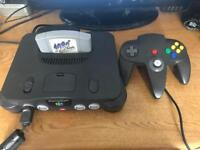 N64 Nintendo 64 Console & game
